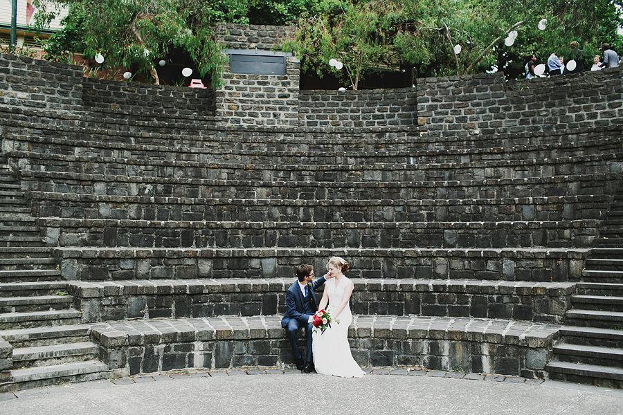 Melbourne Park Wedding Fairfield Ampitheatre