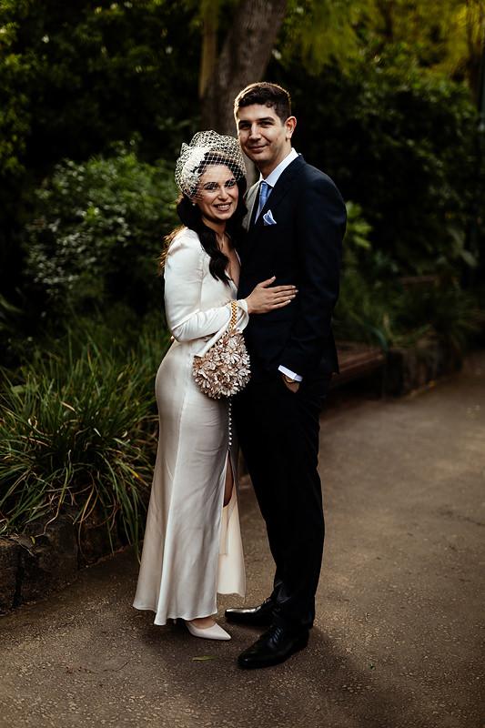 Melbourne Park Wedding Fitzroy Gardens
