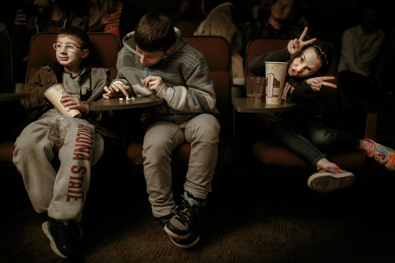 Kids in theatre