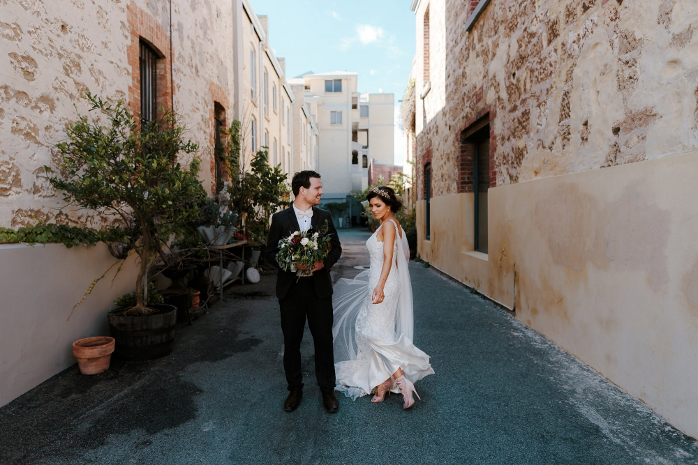 Fremantle Wedding Portraits