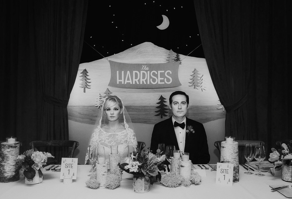 Wes anderson style wedding photography