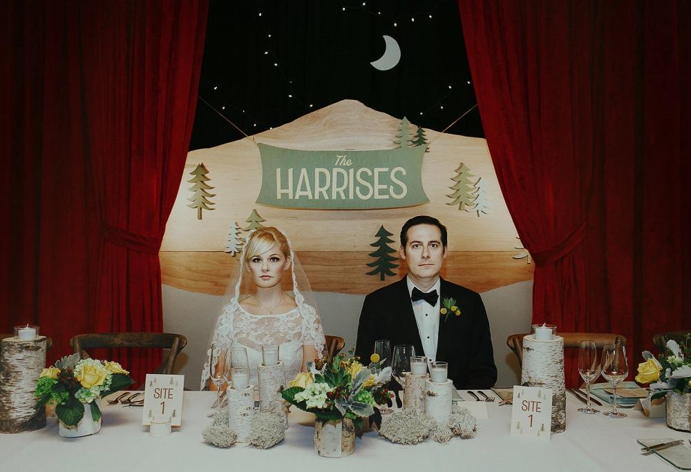 Melbourne wedding photography portrait at desk wes anderson