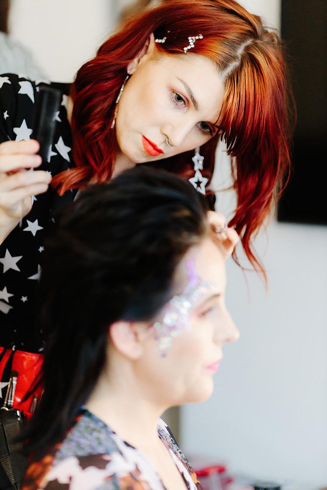 Melbourne Wedding Makeup Killer Queen Creative