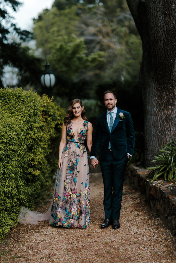 Suzanne Harward Bluebird Gala Gown