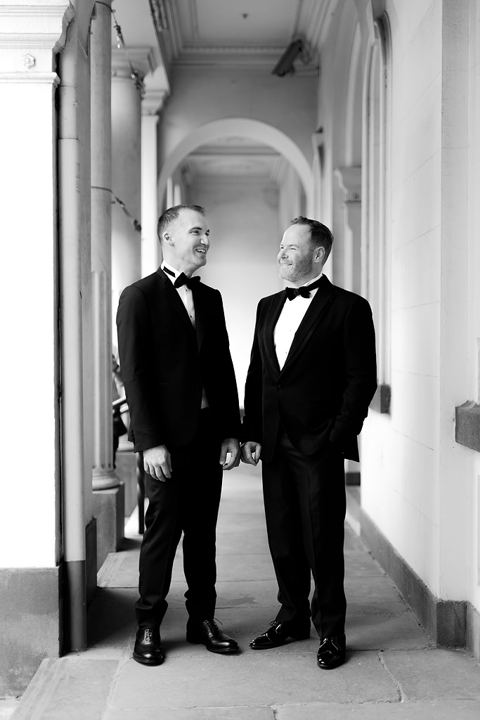 Northcote Town Hall wedding photo