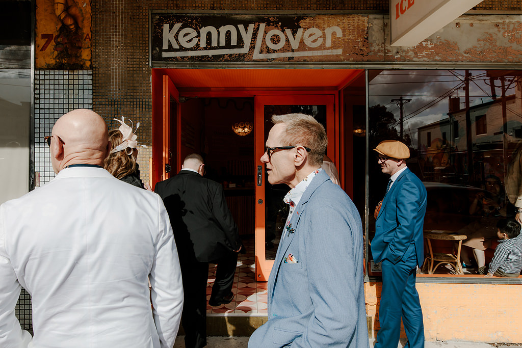 Kenny Lover wedding photo