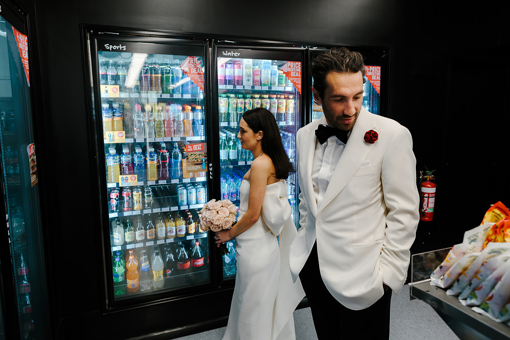 7 11 wedding portrait