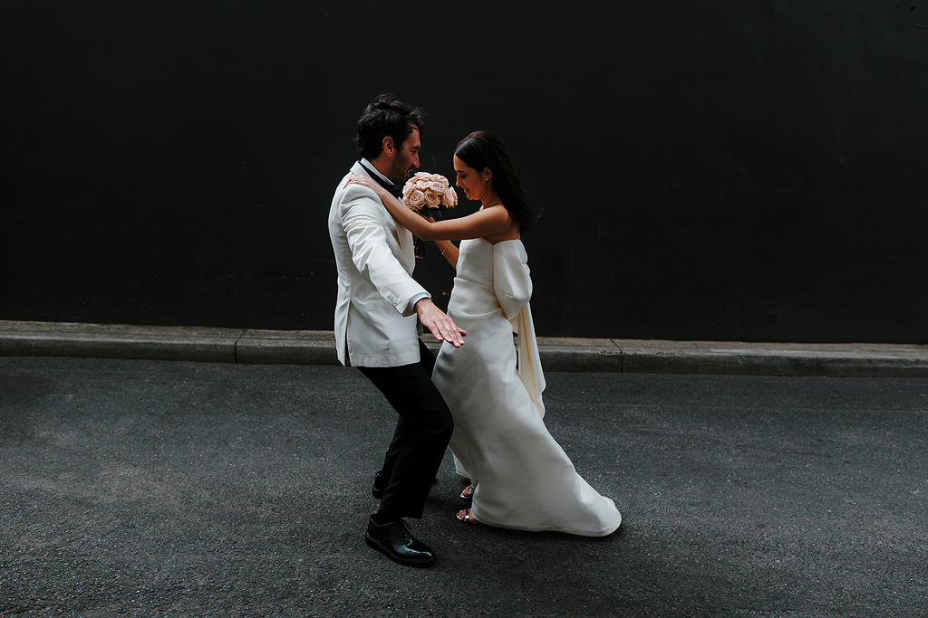 Melbourne City wedding portraits