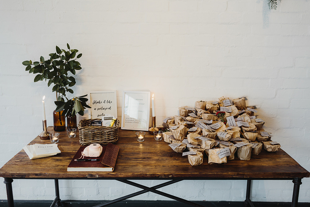 Gather and Tailor rustic wedding styling