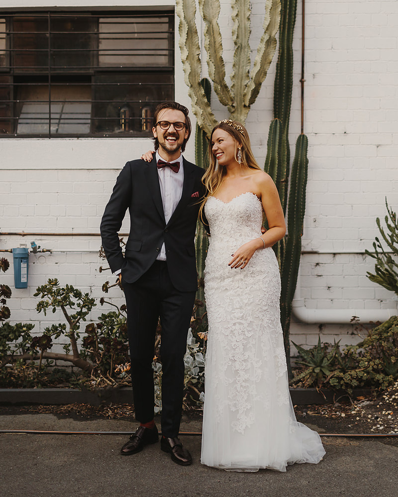 North Melbourne wedding warehouse venue