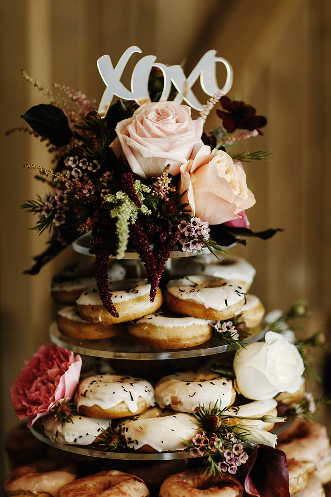 Immerse Yarra Valley Wedding Donut Tower