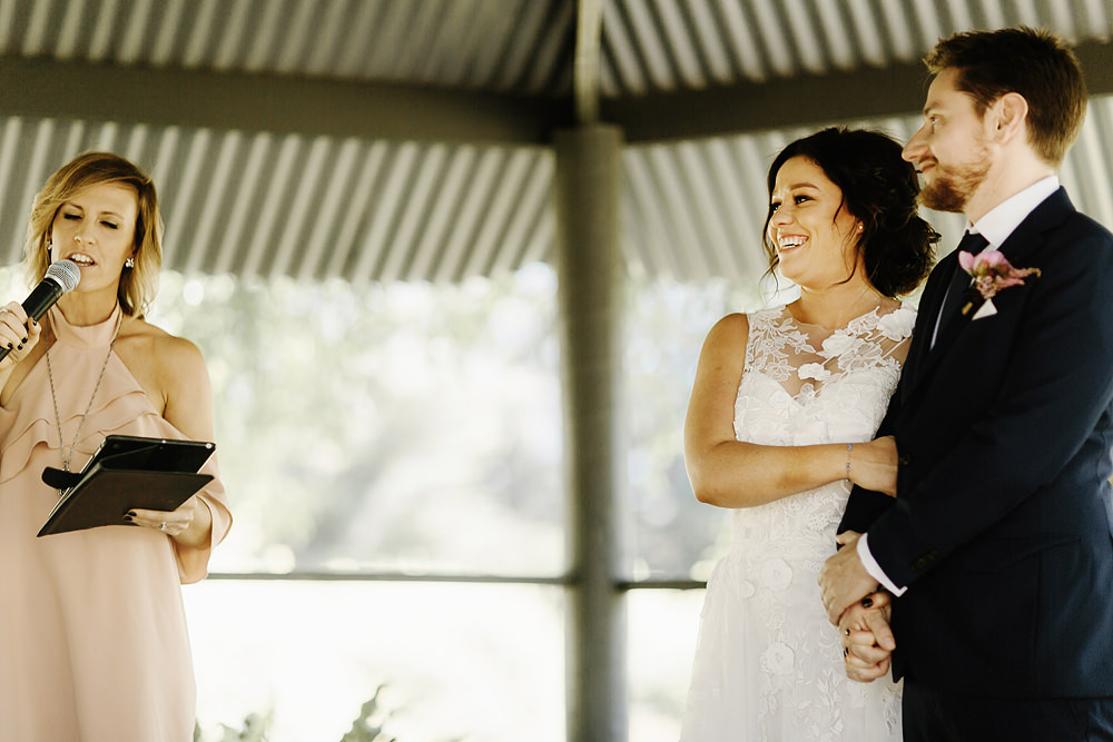 Immerse Winery Wedding Ceremony