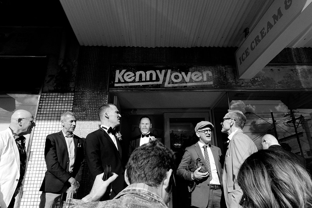 kenny lover ice cream wedding