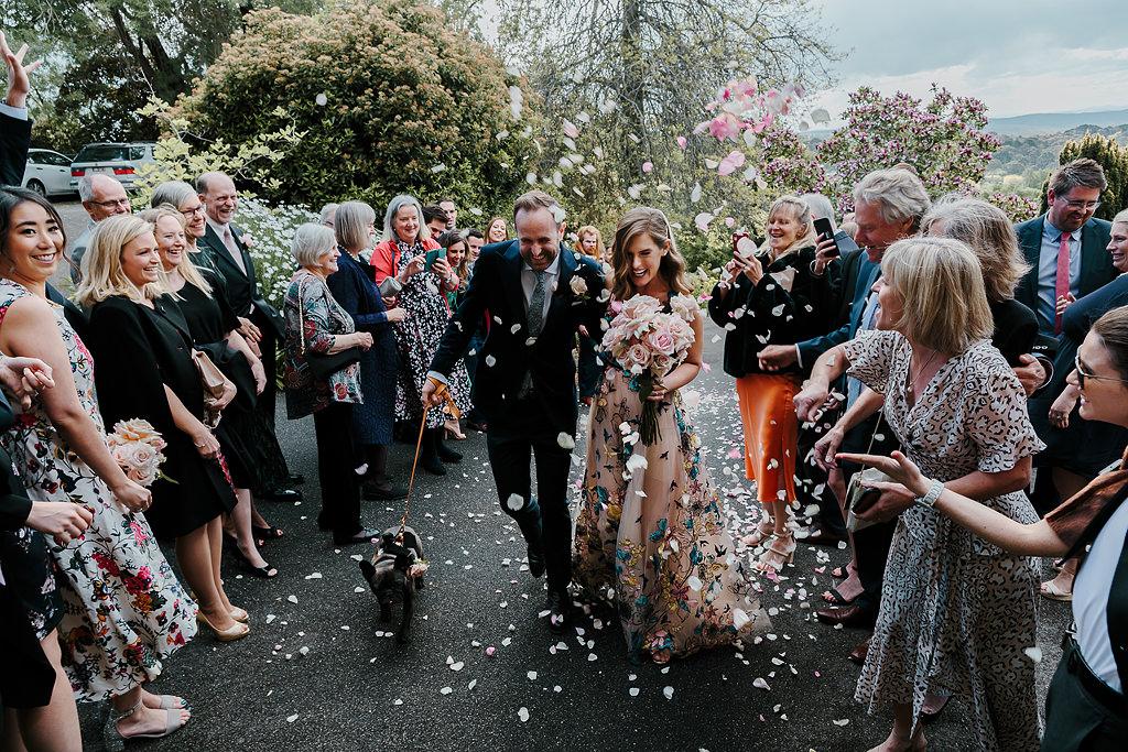 A metropolis events wedding ceremony