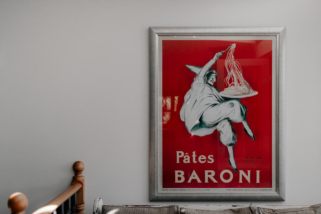 Sault Daylesford wedding / Pates Baroni poster