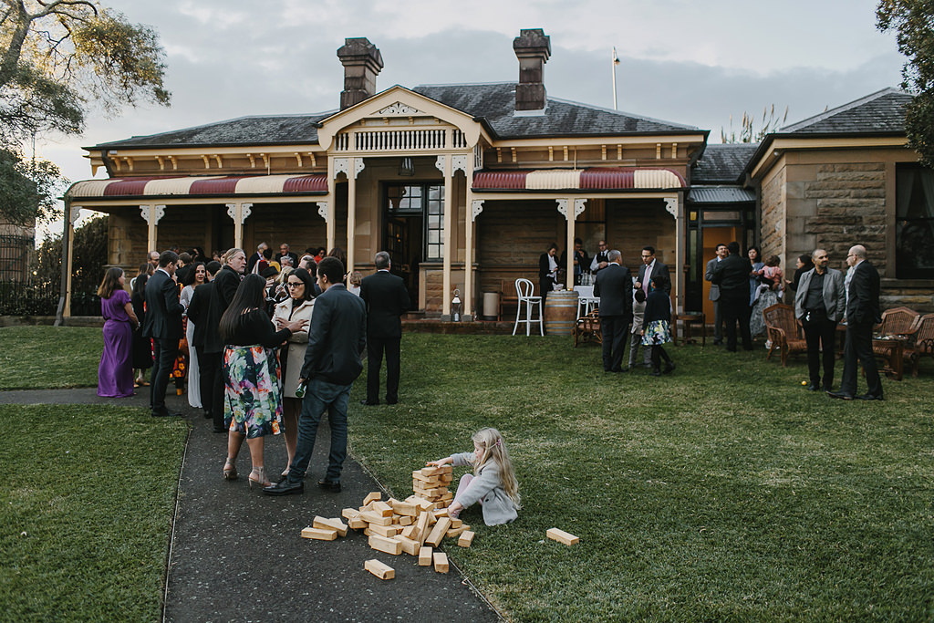 Superintendent's Residence Wedding Centennial Park