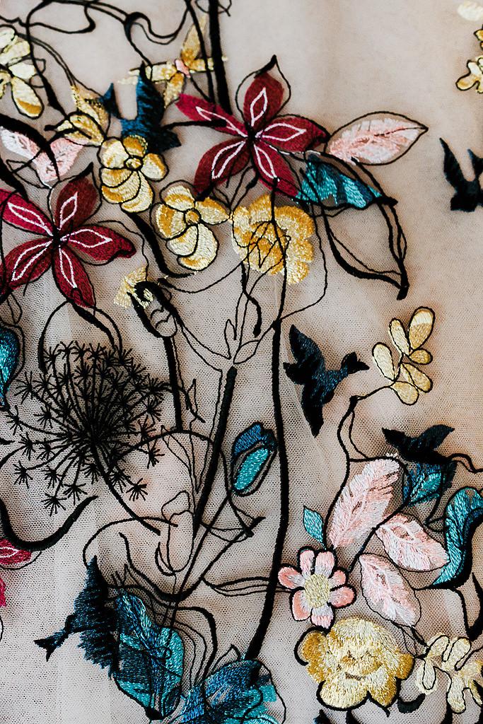 Suzanne Harward Songbird gown details