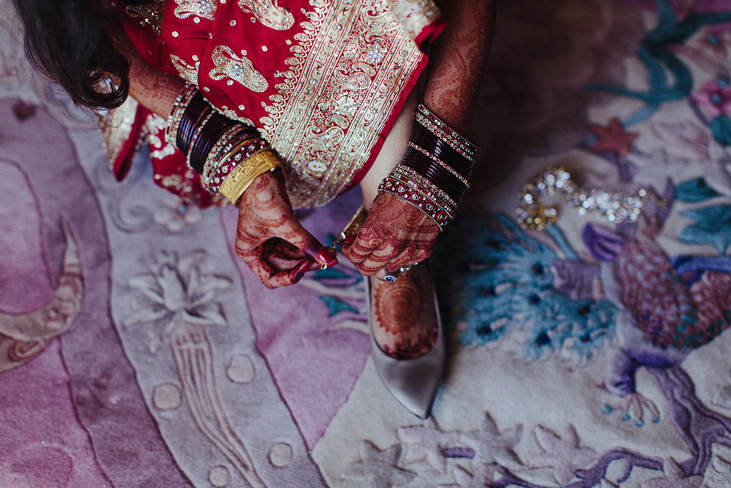 indian wedding bridal preparation