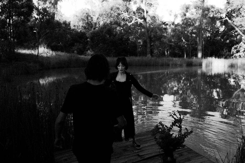 Tanglewood Estate floating lake platform