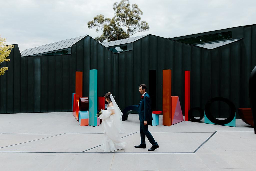 heide museum of modern art wedding