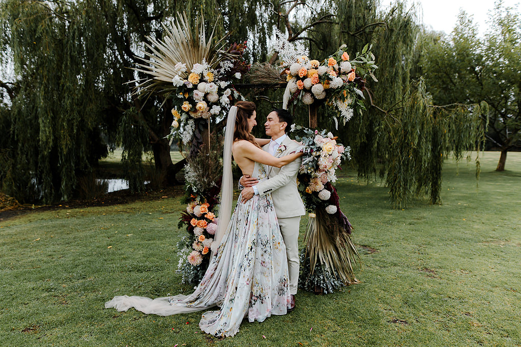 The Best Yarra Valley wedding venes: outdoor wedding ceremony