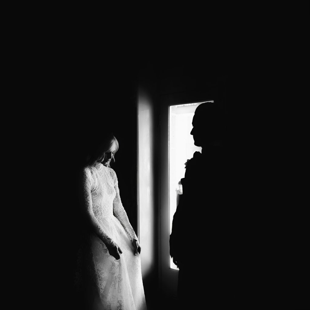 Paolo Sebastian Wedding Dress Moody
