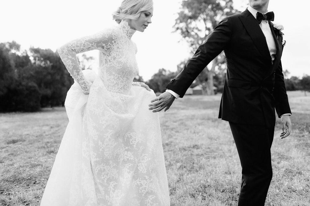 Paolo Sebastian Wedding Dress Sunset