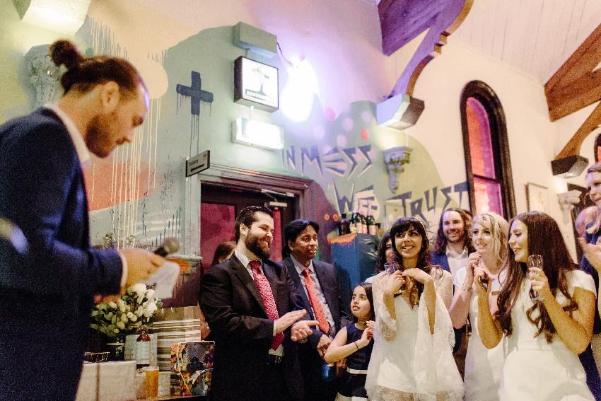 Small Wedding Venue Brunswick Mess Hall