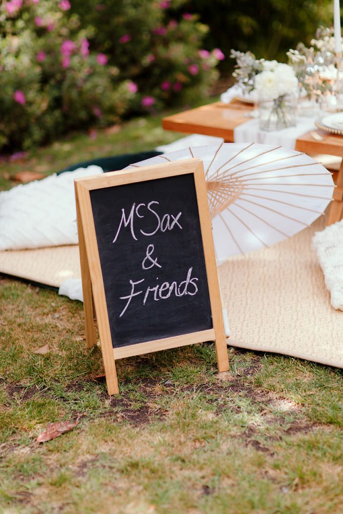 Popup Picnic Styling Co Melbourne Chalk Board