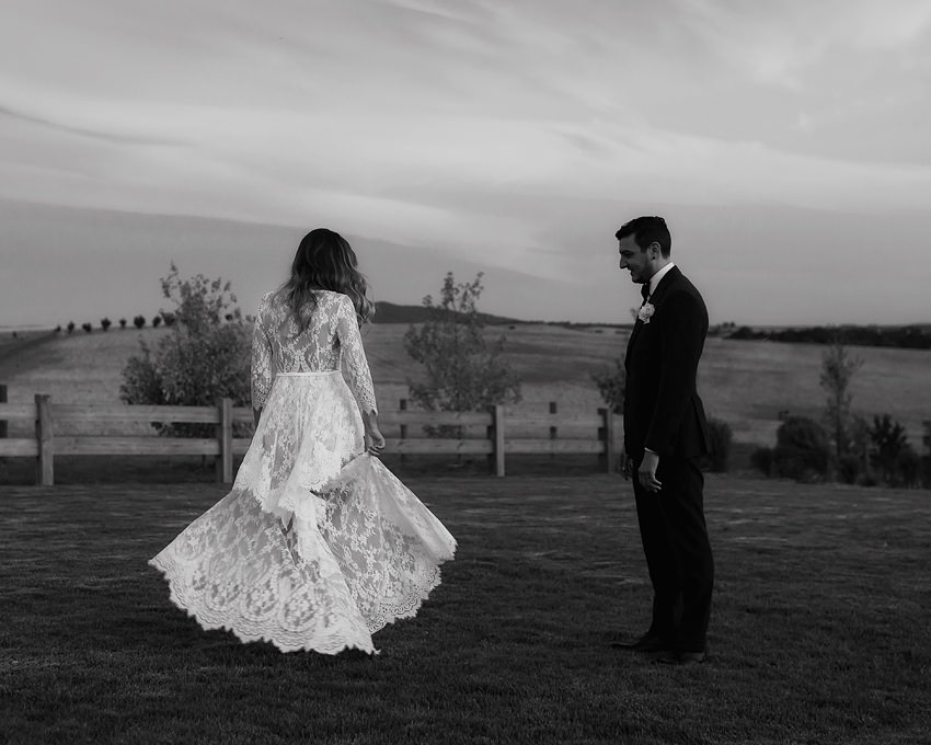 wedding dress melbourne - mariana hardwick on elisha at zonzo estate!