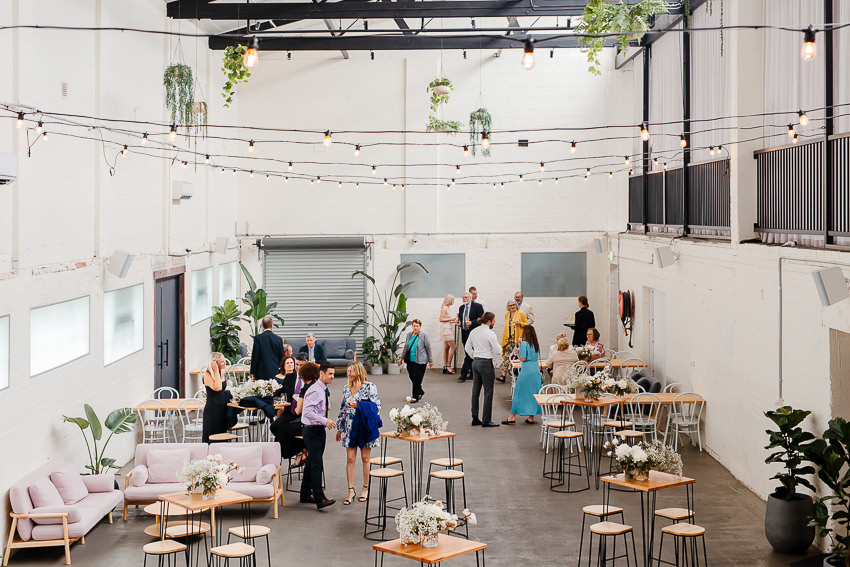 a photo of the Nudo Wool Mill wedding venue in Brunswick