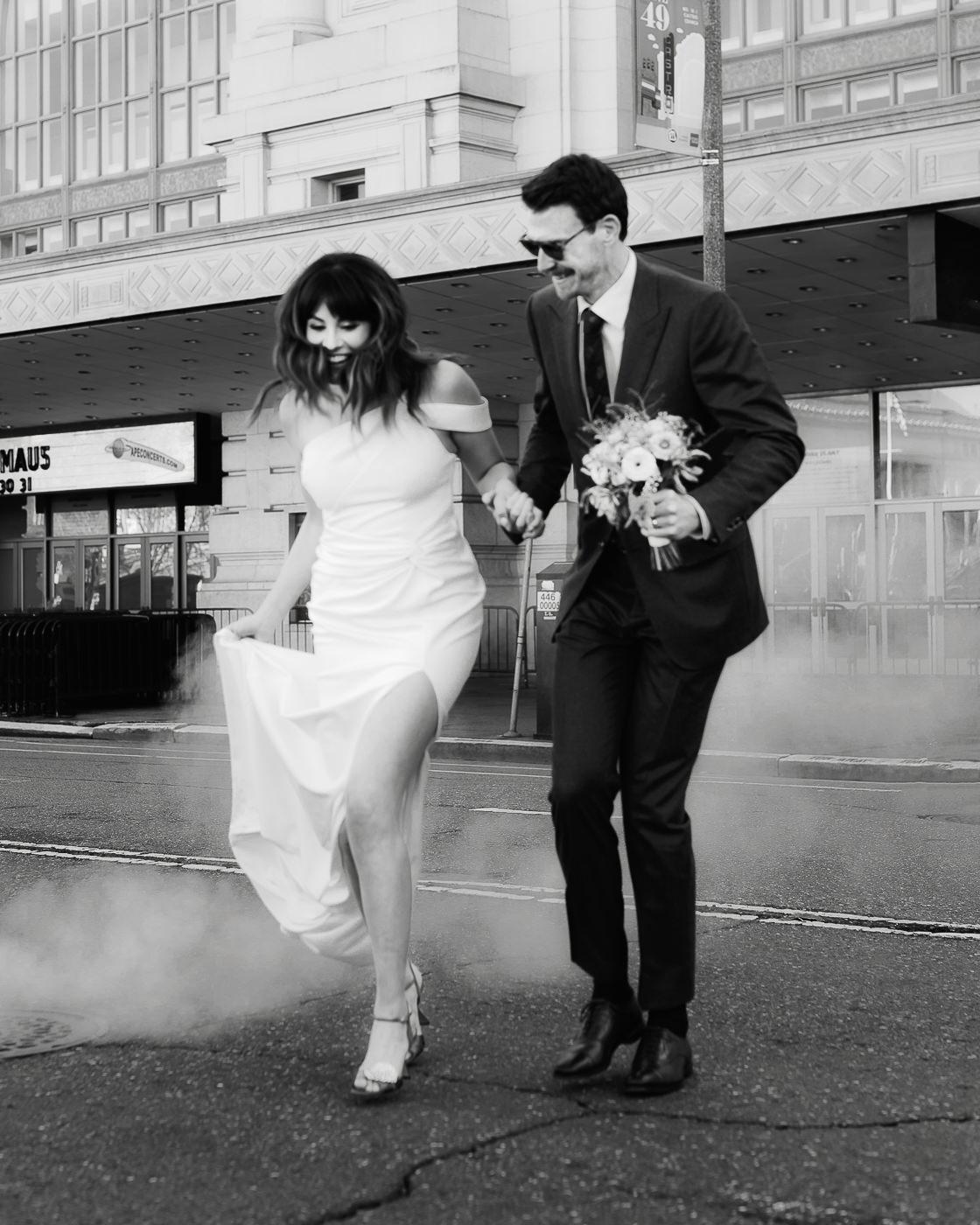 wedding photographer camera shy