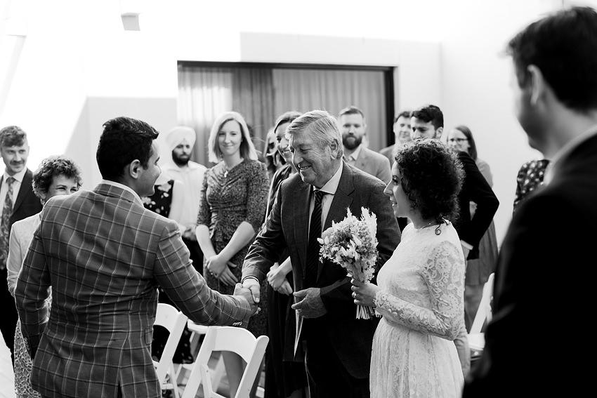 A photo of a brighton savoy wedding reception on the mornington peninsula